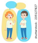 vector illustration. two... | Shutterstock .eps vector #235127827