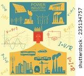 power energy industry... | Shutterstock .eps vector #235134757