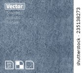 vector seamless realistic denim ... | Shutterstock .eps vector #235138273