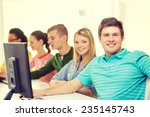 education  technology and... | Shutterstock . vector #235145743