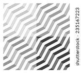 vector line tile seamless black ... | Shutterstock .eps vector #235167223