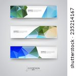 business design templates. set... | Shutterstock .eps vector #235214167