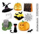 halloween set | Shutterstock . vector #235242253
