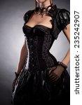 beautiful young woman in... | Shutterstock . vector #235242907