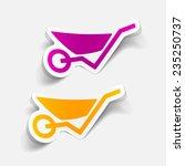 realistic design element ... | Shutterstock . vector #235250737