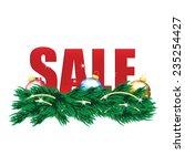 Christmas Sale Tags And...