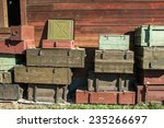 Wooden Boxes For Weapons Under...