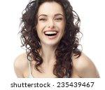 closeup portrait of attractive  ... | Shutterstock . vector #235439467