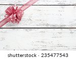 old wooden background with... | Shutterstock . vector #235477543
