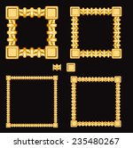 frames and borders made of... | Shutterstock .eps vector #235480267