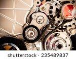 car engine part | Shutterstock . vector #235489837