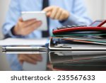 files and folders and... | Shutterstock . vector #235567633