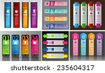 colorful modern text box... | Shutterstock .eps vector #235604317