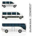 large and small buses for... | Shutterstock . vector #235608517