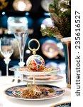 versace christmas balls.... | Shutterstock . vector #235616527