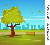 summer park | Shutterstock .eps vector #235657657