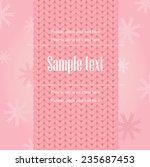 pink scarf on frame