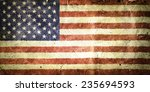 flag of the united states of... | Shutterstock . vector #235694593