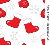 new year's pattern with... | Shutterstock .eps vector #235717687