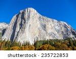 El Capitan Mountain In Yosemit...