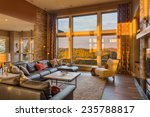 beautiful living room with... | Shutterstock . vector #235788817