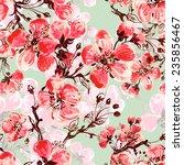 seamless pattern of spring...   Shutterstock . vector #235856467