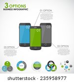 collection of infographic... | Shutterstock .eps vector #235958977