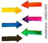 Rainbow Colors Watercolor Brus...