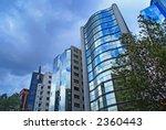 street with modern buildings...   Shutterstock . vector #2360443
