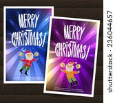 set of two festive christmas...