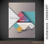 cover design template   Shutterstock .eps vector #236064397