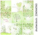 spring cards | Shutterstock .eps vector #236066563