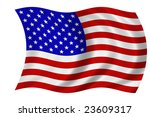 flag of the united states of... | Shutterstock . vector #23609317