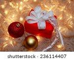 Two Christmas Balls And...