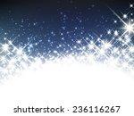 Shiny Starry Christmas Banner....