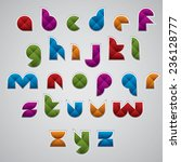 geometric modern style digital... | Shutterstock .eps vector #236128777
