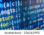 programming code abstract...   Shutterstock . vector #236161993