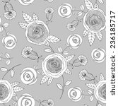 vector seamless pattern with... | Shutterstock .eps vector #236185717
