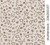 sweet tea pattern. seamless... | Shutterstock .eps vector #236202157