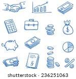 Icon Set Business   Finance...