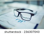 clipboard with document and... | Shutterstock . vector #236307043