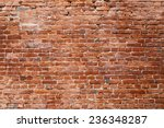 old brick wall. texture of old... | Shutterstock . vector #236348287