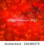 valentine's day vector... | Shutterstock .eps vector #236380273