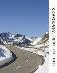 Small photo of Available in winter - snow bars on the Albula Pass