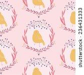 cute seamless floral pattern... | Shutterstock .eps vector #236431333