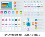 infographics design. flat ui...