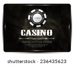 casino background vintage style ... | Shutterstock .eps vector #236435623