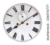 Ancient Ornamental Clock Face...