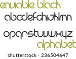 new set of alphabet letters... | Shutterstock .eps vector #236504647