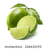 Постер, плакат: Whole lime half and